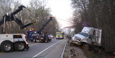 Heavy Wrecker Towing and Recovery
